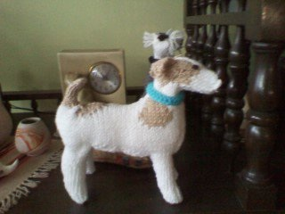 Knitting Pattern For Jack Russell Dog : Tricotting blog - Tricotting Handmade Knitwear